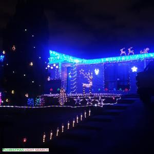 Christmas Light display at 53 Forder Road, Noranda