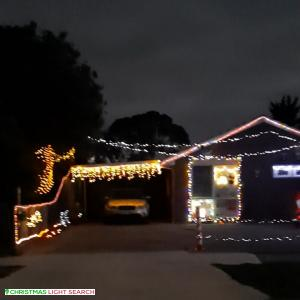 Christmas Light display at 4 Intervale Drive, Wyndham Vale