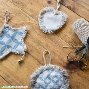 Christmas Textile Ornament Workshop