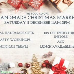 Handmade Christmas Market at the Food Co-op!