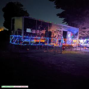 Christmas Light display at 79 Breakwater Road, Breakwater