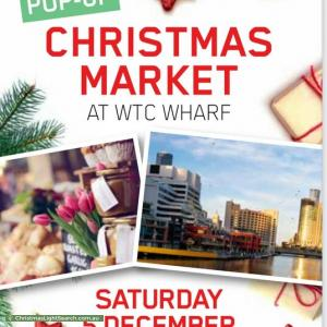 Pop Up Christmas Market at WTC Wharf