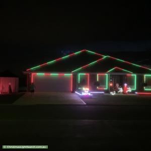 Christmas Light display at 13 Kay Avenue, Two Wells