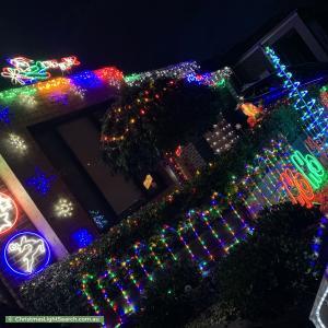 Christmas Light display at  Stoke Cct, Wollert