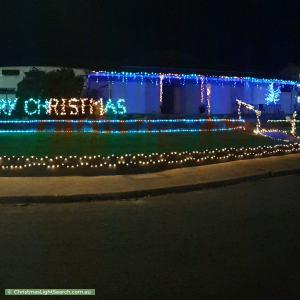 Christmas Light display at 24 Selangor Avenue, Fairview Park