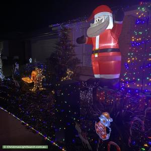 Christmas Light display at  Sarah Street, Munno Para West