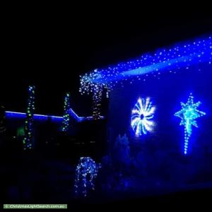 Christmas Light display at 74 Gum Nut Drive, Langwarrin