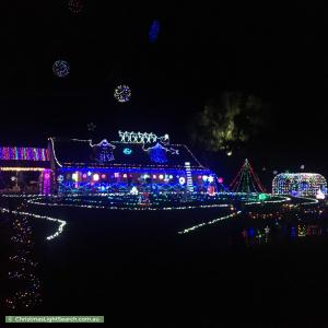 Christmas Light display at 152 Belltonia Way, Vasse