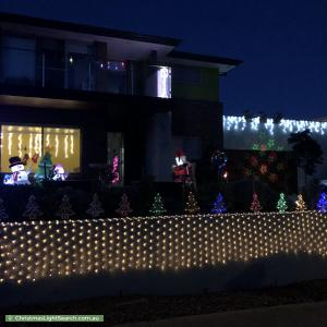 Christmas Light display at 36 Alan Watt Crescent, Casey