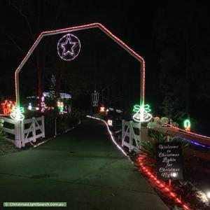 Christmas Light display at 347 Chevallum Road, Chevallum
