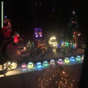 Christmas Light display at 64 Whitsunday Drive, Hoppers Crossing