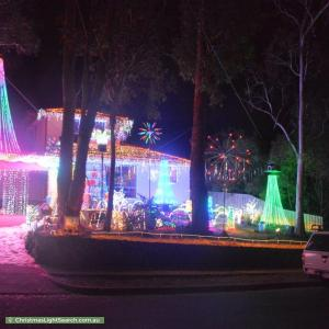 Christmas Light display at 150 Reichelt Avenue, Montmorency
