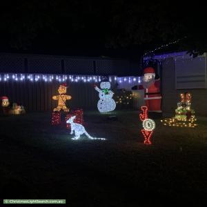 Christmas Light display at  Salway Street, Elizabeth Park