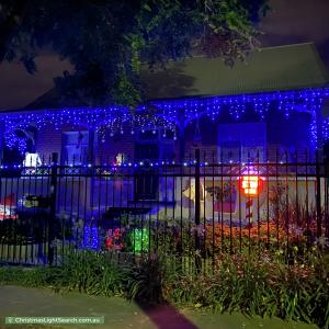 Christmas Light display at 39 Airlie Avenue, Prospect