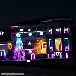 Christmas Light display at 30 Jacaranda Drive, Diamond Creek