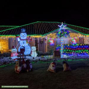 Christmas Light display at Simone Crescent, Morphett Vale
