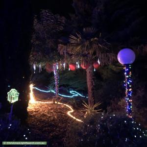 Christmas Light display at  Birubi Place, Jerrabomberra