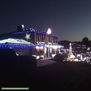 Christmas Light display at 16 Toulouse Terrace, Narre Warren South
