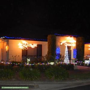 Christmas Light display at  Kingfisher Avenue, Mawson Lakes