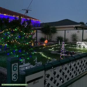 Christmas Light display at 63 Kathleen Crescent, Hoppers Crossing