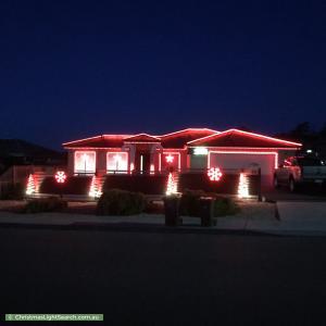 Christmas Light display at  Cavenor Drive, Rokeby