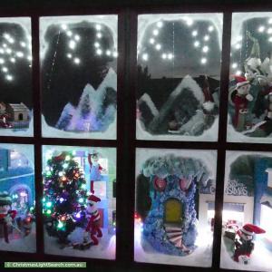 Christmas Light display at 4 Link Street, Mount Barker