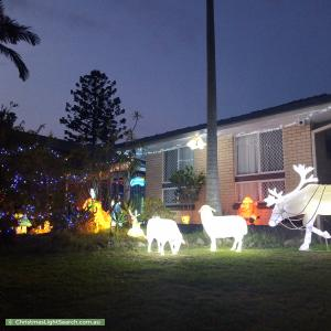 Christmas Light display at 19 Boonaree Street, Sunnybank