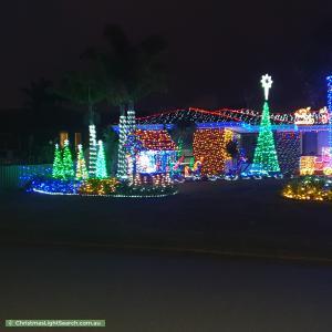 Christmas Light display at 16 Kirn Close, Willetton