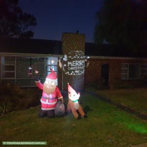 Christmas Light display at 19 Gertrude Street, Morphett Vale