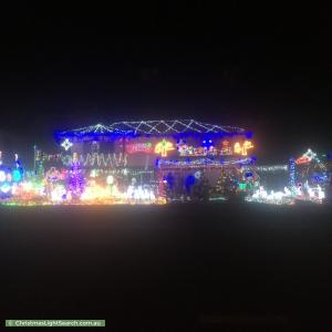 Christmas Light display at 122 Sparkes Road, Bray Park