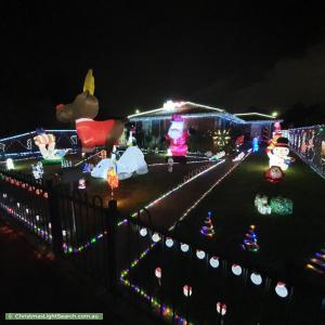 Christmas Light display at 74 Sharland Road, Corio