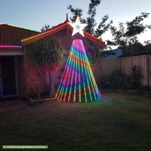 Christmas Light display at 14 Carmana Lane, Warnbro