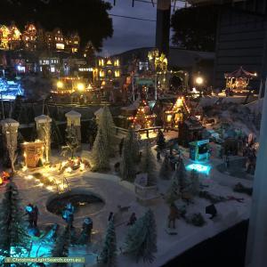 Christmas Light display at 6 Franklin Street, Moorabbin
