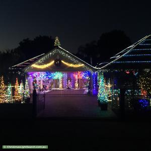 Christmas Light display at 26 Hampden Road, Mount Barker