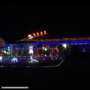 Christmas Light display at 31 Bindoon Loop, Huntingdale
