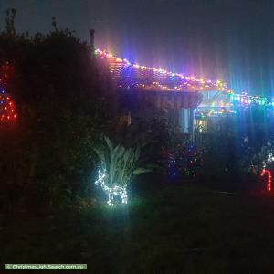 Christmas Light display at 12 Arnold Drive, Hackham