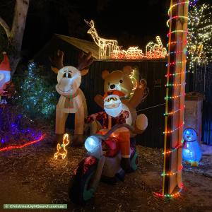 Christmas Light display at 453 Yatala Vale Road, Fairview Park