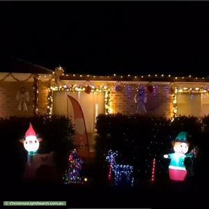 Christmas Light display at 34 Christmas Street, Theodore