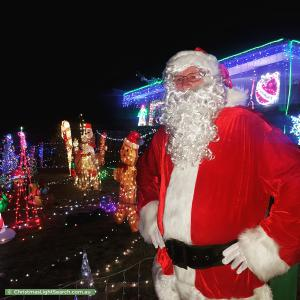 Christmas Light display at 21 Meldrum Avenue, Mill Park