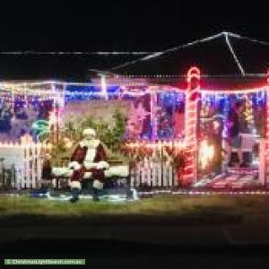 Christmas Light display at 39 Westfield Street, Maddington