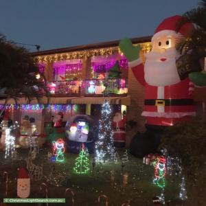 Christmas Light display at 24 Vienna Road, Alexandra Hills