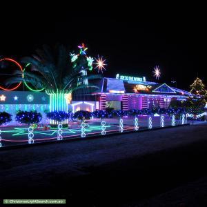 Christmas Light display at 108 Chellaston Road, Munno Para West