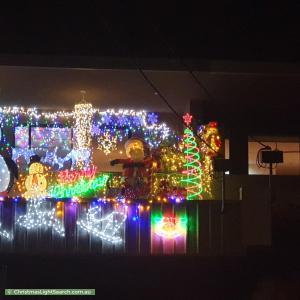 Christmas Light display at 479 Balcombe Road, Beaumaris