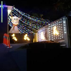 Christmas Light display at 19 Nemarra Street, Wynnum West