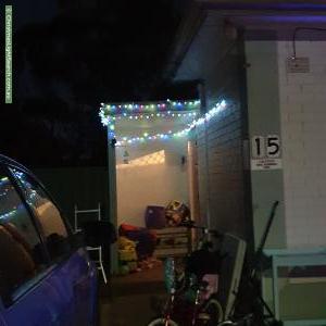 Christmas Light display at 15 Blight Street, Davoren Park