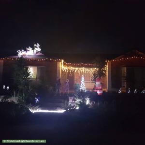 Christmas Light display at  Persimmon Grove, Golden Grove