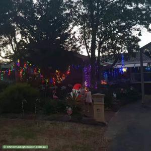 Christmas Light display at  Dove Place, Modbury Heights