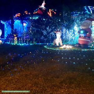 Christmas Light display at 63 Koala Drive, Morayfield