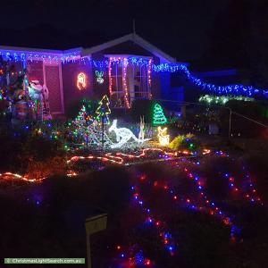 Christmas Light display at 8 Gilbert Road, Mount Barker
