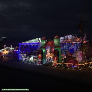 Christmas Light display at 15 Sherwood Road, Australind